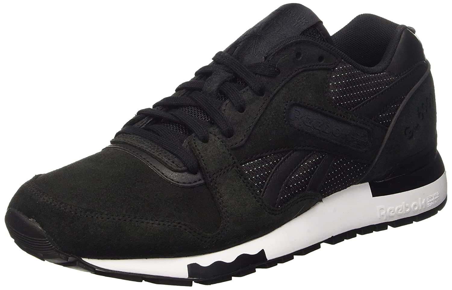 Reebok Herren Gl 6000 PT Low-Top  39 EU|Schwarz (Black/White)