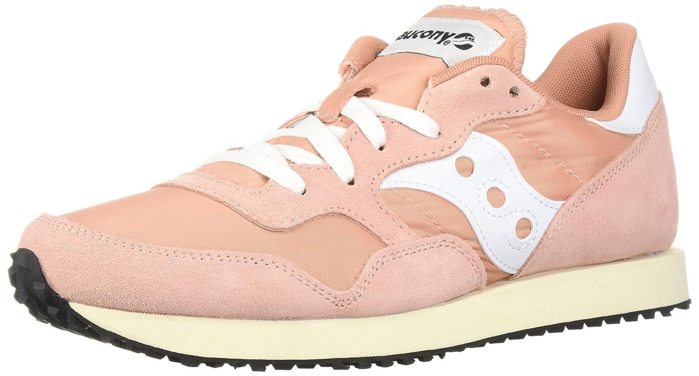 Saucony Originals Women's DXN Trainer Vintage Running Shoe B071G1JGVH 7 B(M) US|Peach/White