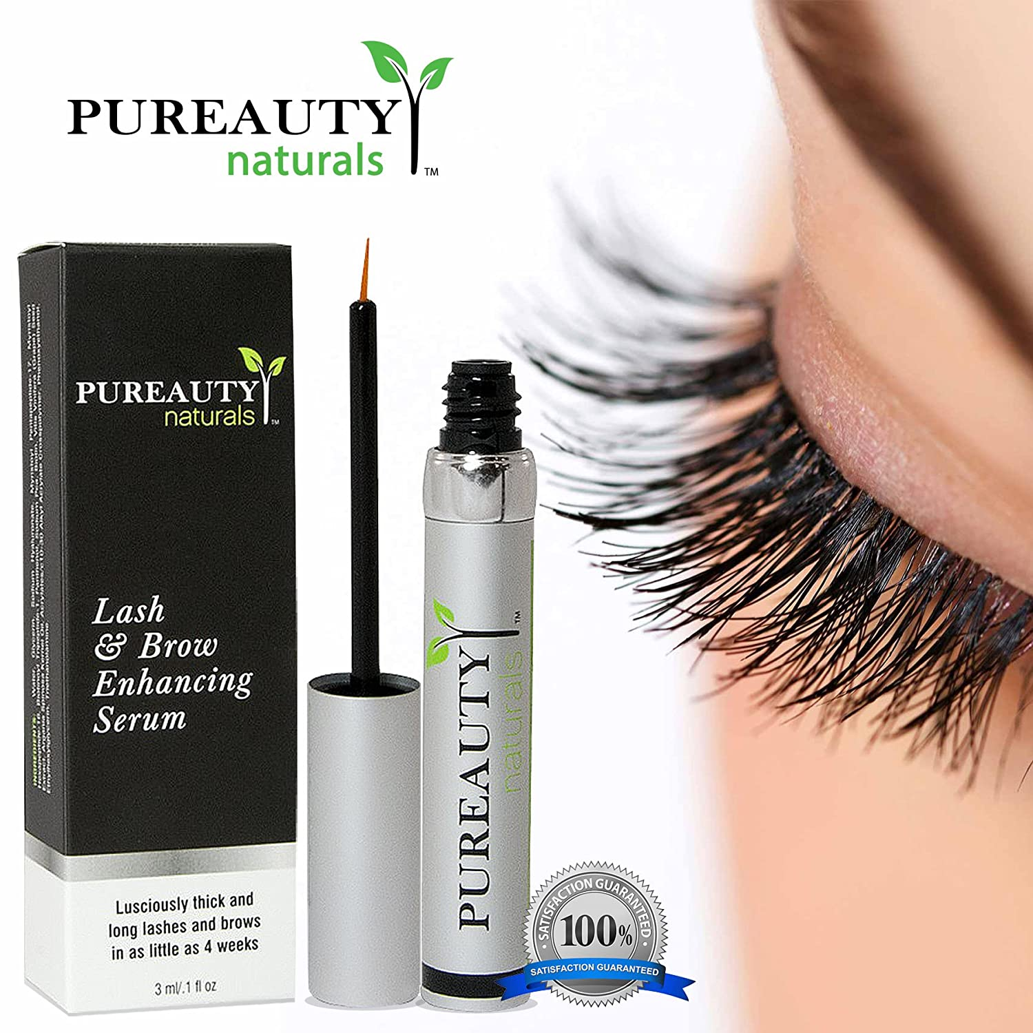 97c0a6558d7 Amazon Com Pureauty Naturals Eyelash Serum Beauty