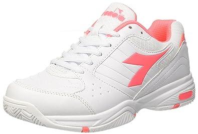 Sneakers Basse Asics Donna Gel Dedicate 4 BiancoRosa
