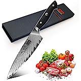 SHAN ZU Cuchillo de Chef Pro. Cuchillo de Cocina 25cm ...