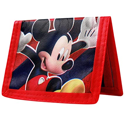 Disney Mickey Mouse Clubhouse Kids Bifold Wallet: Amazon.es ...