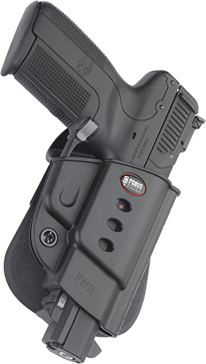 Amazon Com Fobus Fnh Evolution Holster For Fn Five Seven Except Iom Mk2 Right Hand Paddle Black Gun Holsters Sports Outdoors