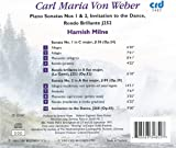 Carl Maria Von Weber: Piano Sonatas Nos. 1