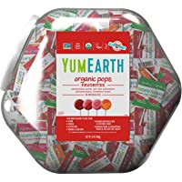 YumEarth Organic Lollipops, Variety Pack, 30 ounce (pack of 1) - Allergy Friendly, Non GMO, Gluten Free, Vegan…