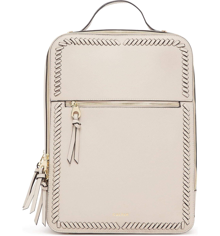 [カルパック] レディース バックパックリュックサック Calpak Kaya Faux Leather Laptop Backpack [並行輸入品] B07DRBD2HG  One-Size