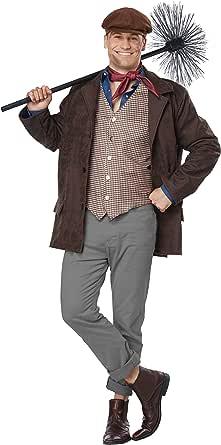 California Costumes Men's Chimney Sweep - Adult Costume Adult Costume, Brown, Large/Extra Large