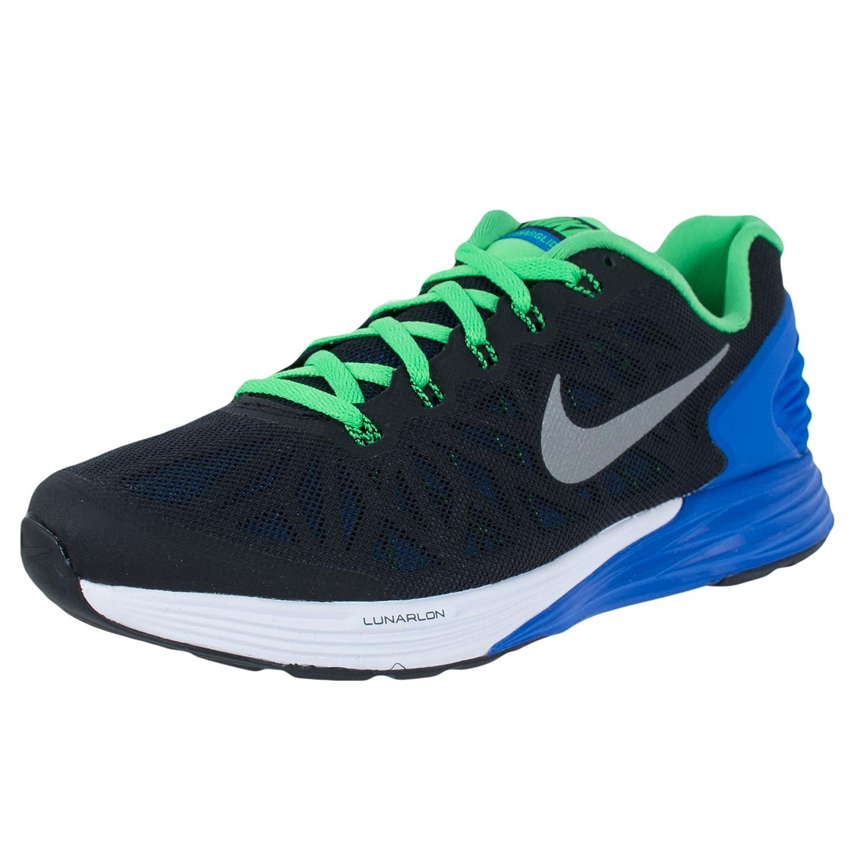cheap for discount a0c6d 6e15e Nike - Lunarglide 6 Junior running shoes (black blue) - EU 36 - US 4   Amazon.co.uk  Shoes   Bags