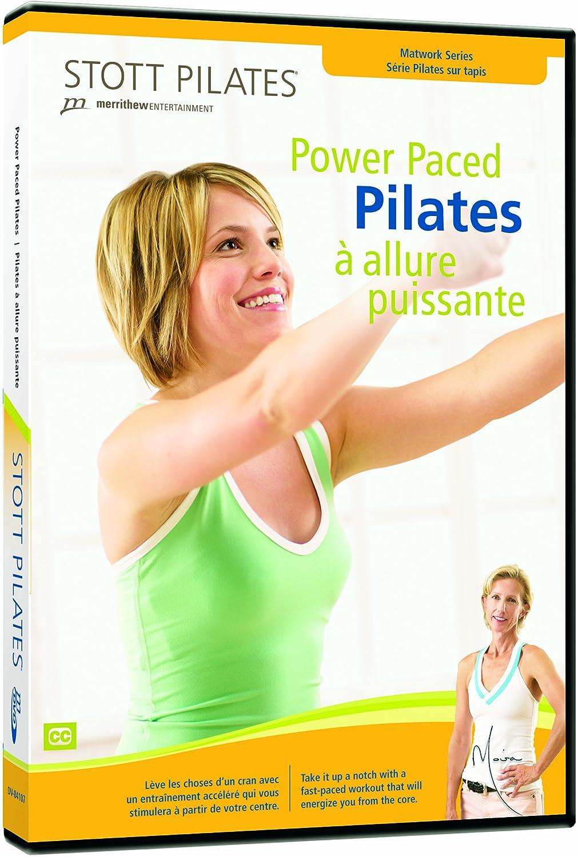 English//French Wayne Seeto Moira Merrithew Merrithew Entertainment DV-84107 Fitness//Self-Help Movie General Sports Exercise//Fitness Pilates STOTT PILATES Power Paced Pilates