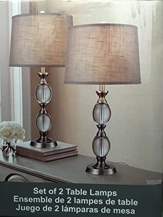 Bridgeport Designs Set of 2 Table Lamps