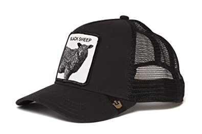 d4df980787f9f Amazon.com  Goorin Bros. Mens  Be Reckless  Sheep Trucker Snapback ...