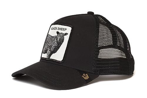 Amazon.com  Goorin Bros. Mens  Be Reckless  Sheep Trucker Snapback ... 55c59ab0c917