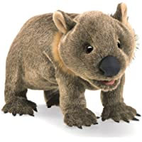 Folkmanis Wombat Hand Puppet, One Size, Multicolor