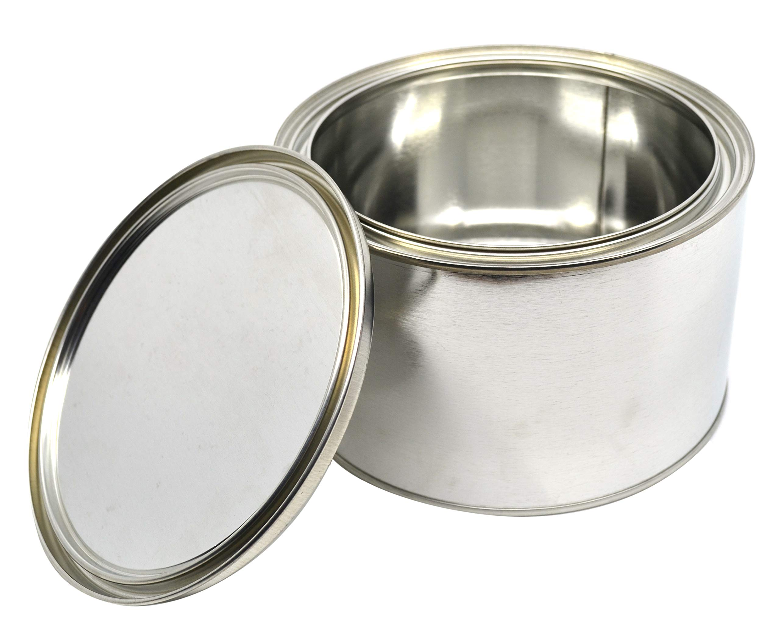 1/2 Gallon Grease Can with Lid - Made in The USA from Partially Recycled Metal - 100% Recyclable