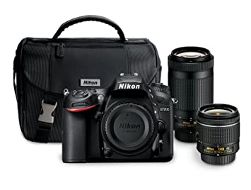 Nikon D7200 24 2 MP Dual Zoom Lens Kit with 3 2