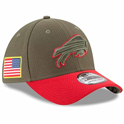 san francisco 2868d 22aa4 Buffalo Bills New Era NFL 39THIRTY 2017 Sideline  quot Salute to  Service quot  ...