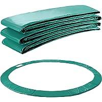 Arebos Randafdekking voor trampoline, 183, 244, 305, 366, 396, 427, 457 of 487 cm, groen