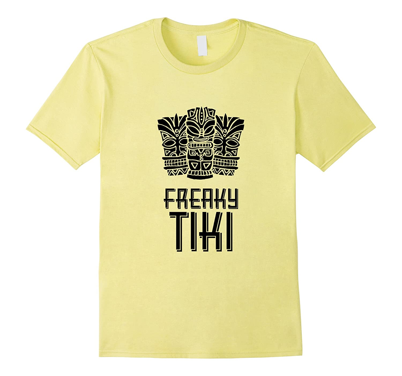 Freaky Tiki Shirt, Tiki Mug Luau Party Tee