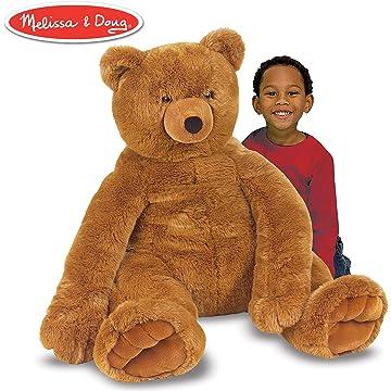 reliable Melissa & Doug Brown Bear
