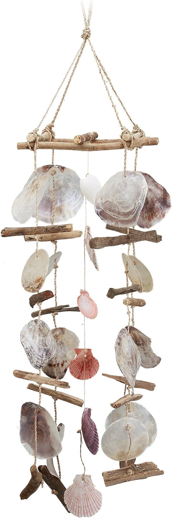 SUPVOX Campana de Viento al Aire Libre Colgante Decorativo Hermoso Campana de Viento de Concha para Tienda jard/ín Pasillo Pasillo caf/é