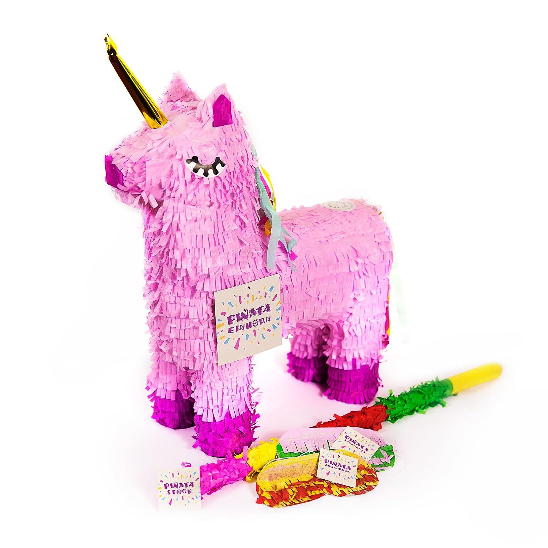 Trend Ario Unicornio Piñata Juego, varilla pinjatta + + Ojo ...