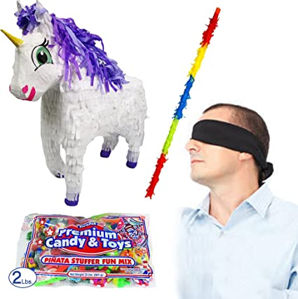 Amazon.com: Piñatas Fairytale unicornio Piñata Kit ...