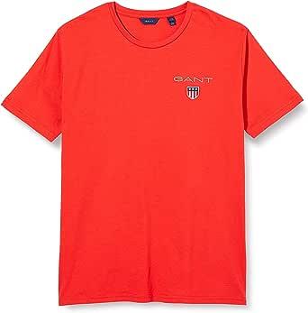 GANT Medium Shield SS T-Shirt Camiseta para Niños