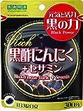 ISDG 黒酢にんにく+セサミン RICH 490mg×90粒