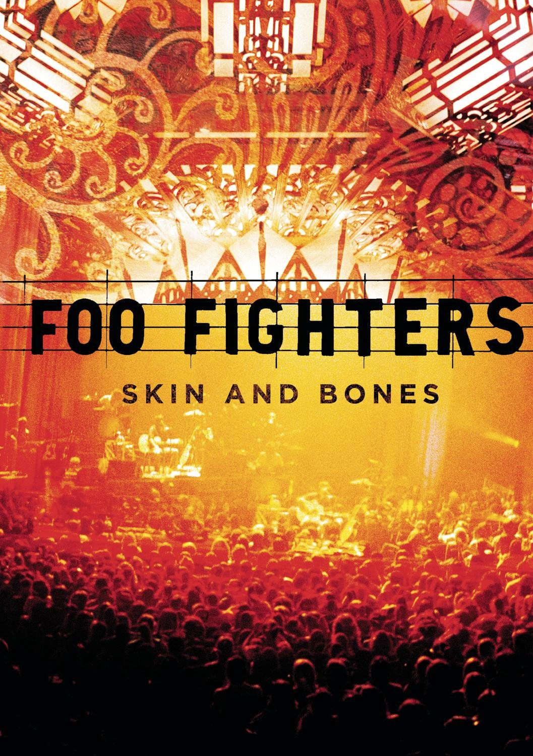 DVD : Foo Fighters - Skin and Bones (DVD)