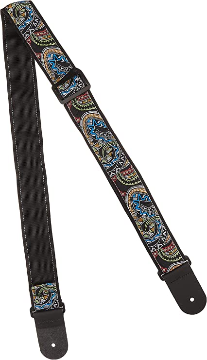 Planet Waves 50PLJS02 Joe Satriani Planet Lock Electric Guitar Strap Up In Flam