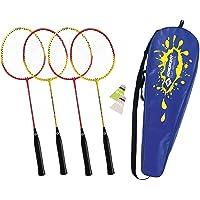 Schildkröt Funsports 2288021 Set de Badminton pour 4 Joueurs Mixte Enfant, Multicolore
