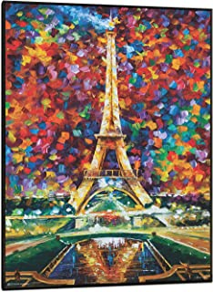 product image for Frame USA Paris of My Dreams by LEONID AFREMOV Poster (Black Wood Mount Plaque)(24x36)