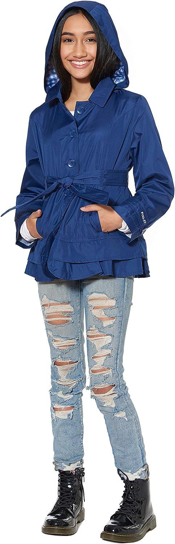 LONDON FOG Girls Lil Lightweight Trench Dress Coat Jacket