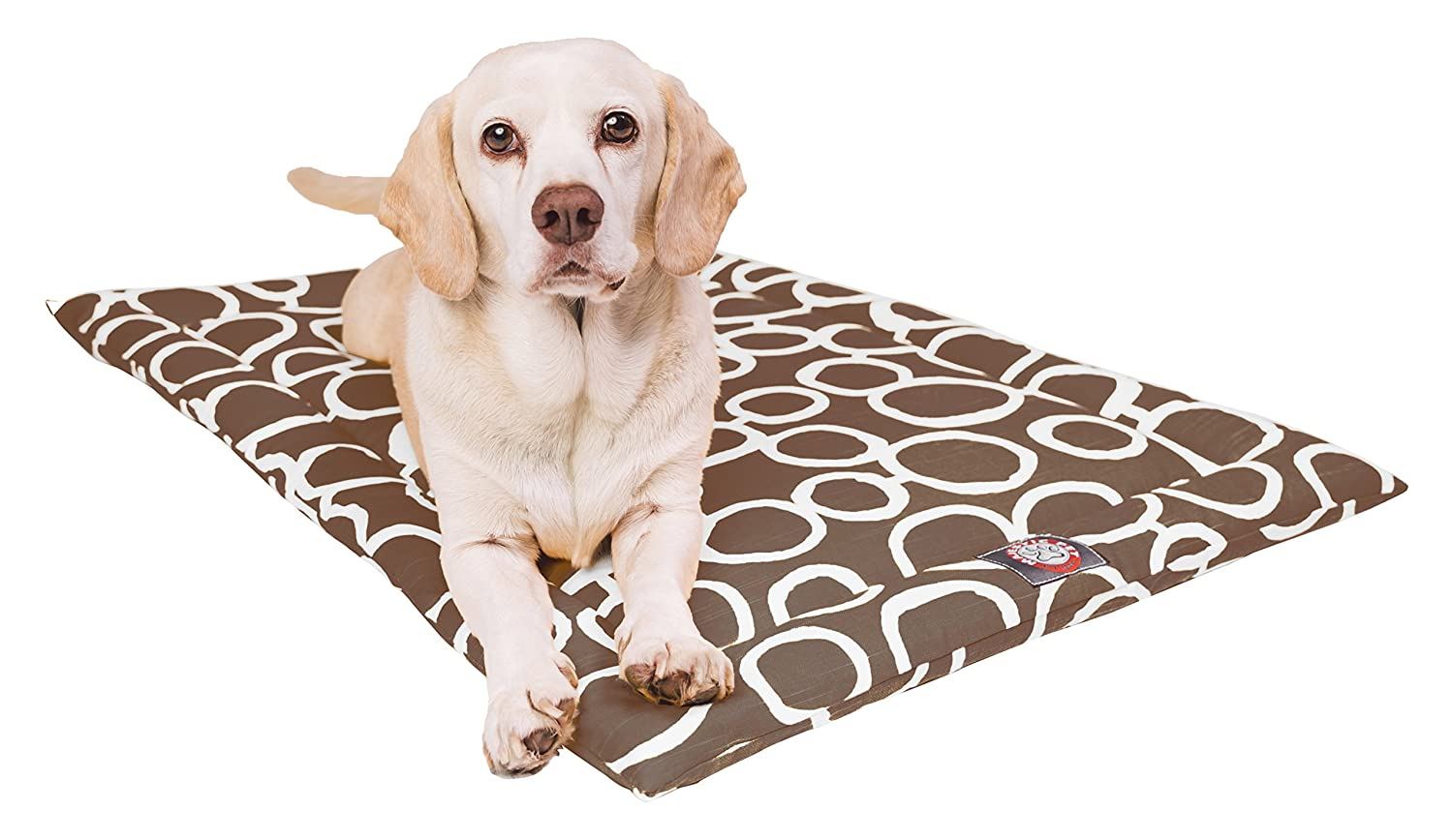 24  Fusion Mocha Brown Crate Dog Bed Mat by Majestic Pet Products