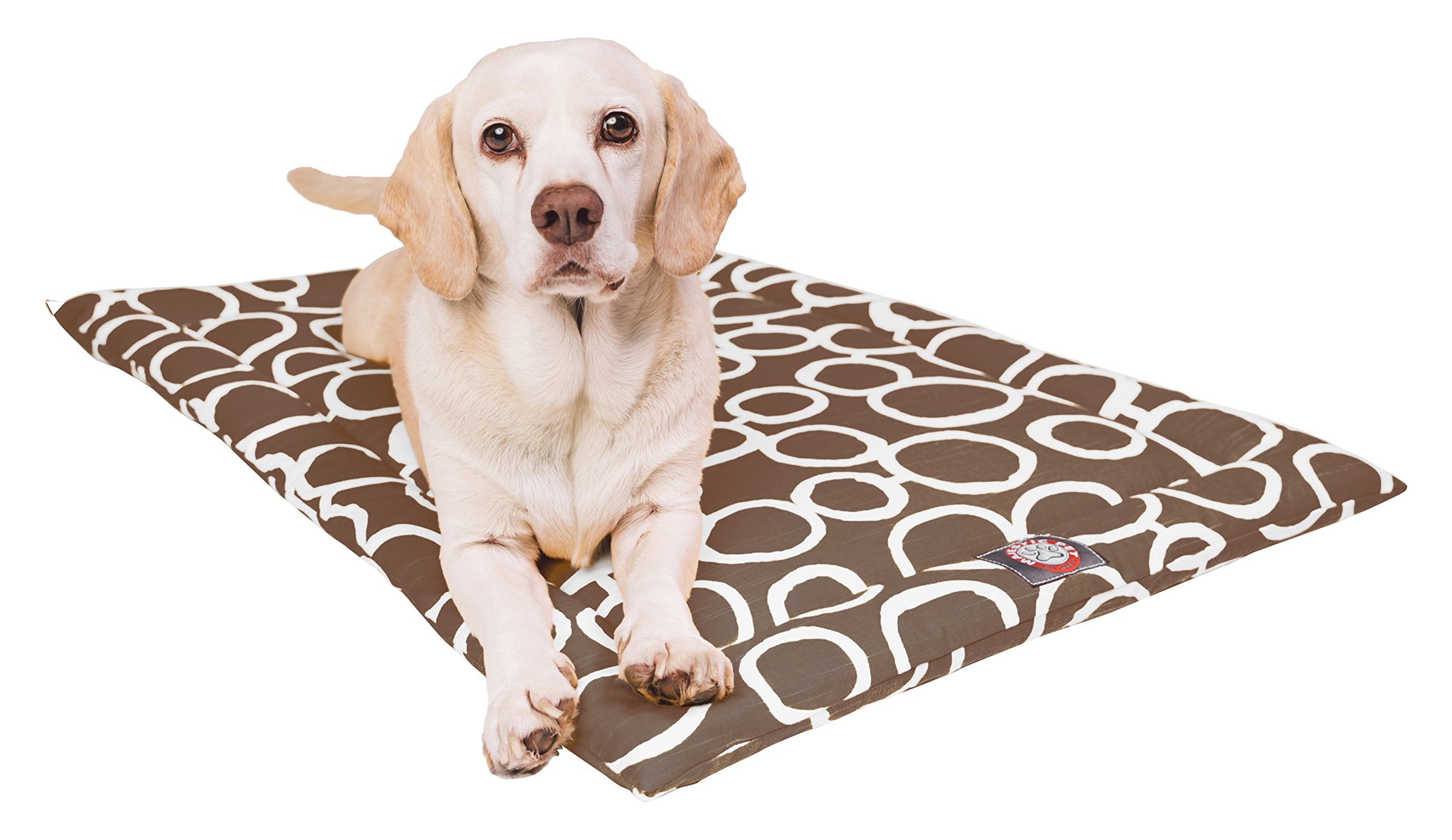 Majestic Pet 36'' Fusion Mocha Brown Crate Dog Bed Mat Products