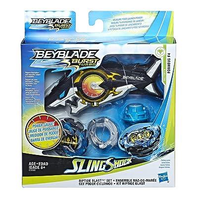 BEY Riptide Blast Set: Toys & Games