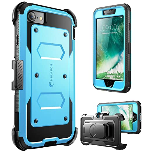 85 opinioni per Custodia iPhone 7 i-Blason [Armorbox]- Protezione robusta con plastica rigida [