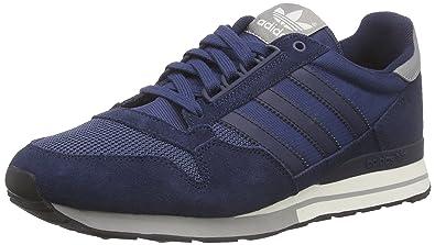 adidas uomini zx 500 og basso sopra le scarpe da ginnastica, blu (collegiale marina / off