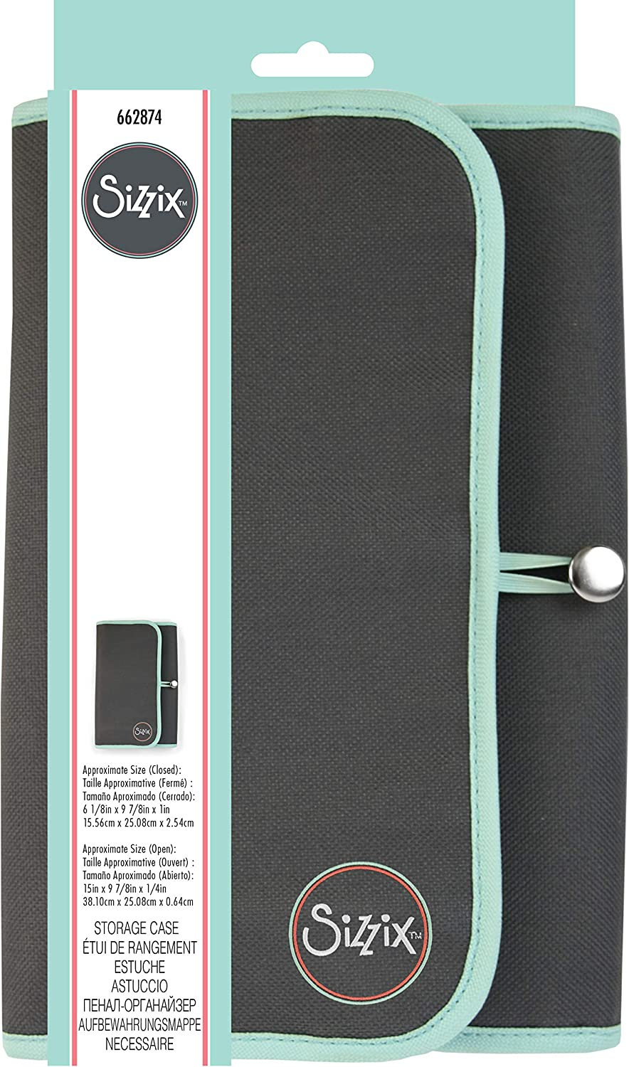 Sizzix 662874 Storage Case Craft Supplies us:one Size Multicolor