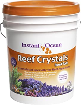Instant Ocean Reef Crystals Salt for Aquariums
