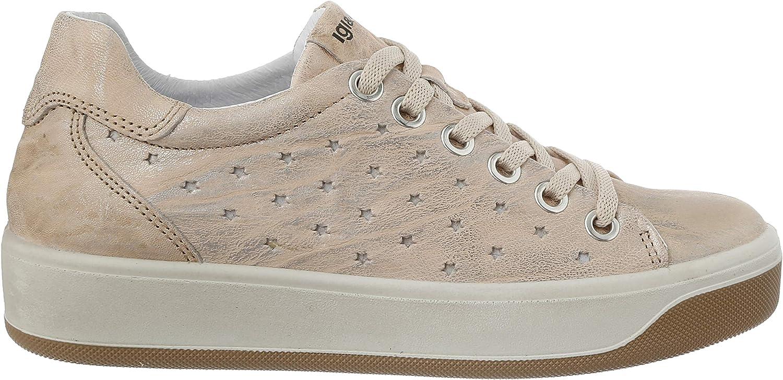 IGI&CO Scarpa Donna Dvx 51573, Sneaker Avorio Taupe 5157366