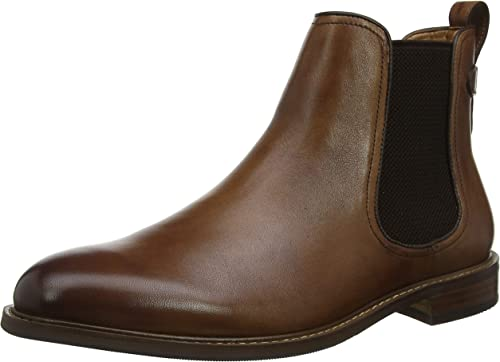 Dune Men Character Chelsea Boots, Brown