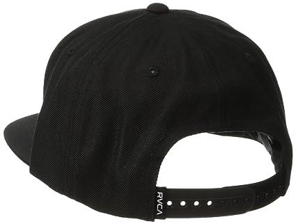 31bb70913c3 ... buy amazon rvca mens va snapback ii hat black black one size clothing  467cb 0a792