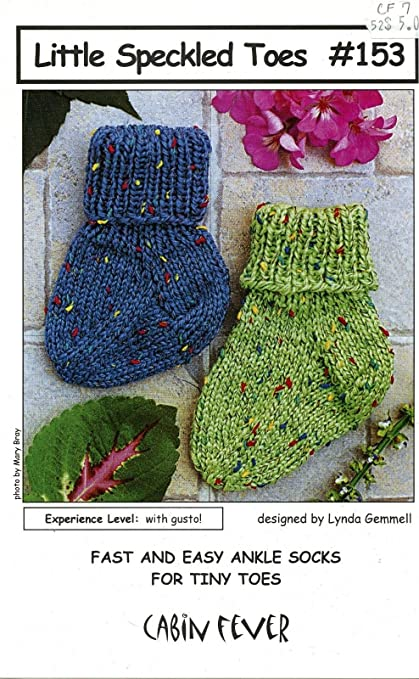Amazon Little Speckled Toes Cabin Fever Knitting Pattern 153