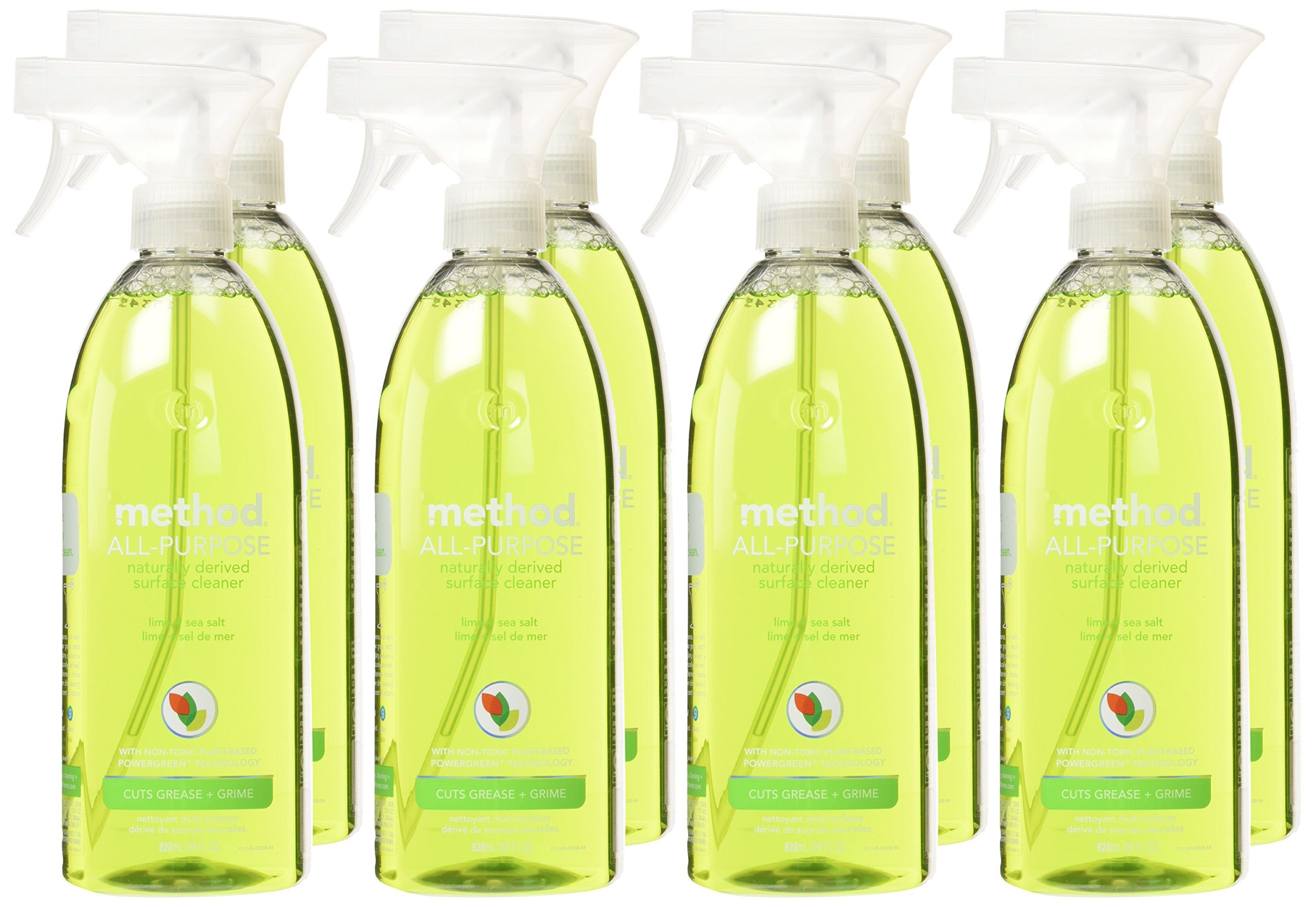 Method All Purpose Cleaner, Lime + Sea Salt, 28 Ounce (8 Count) by Method (Image #2)
