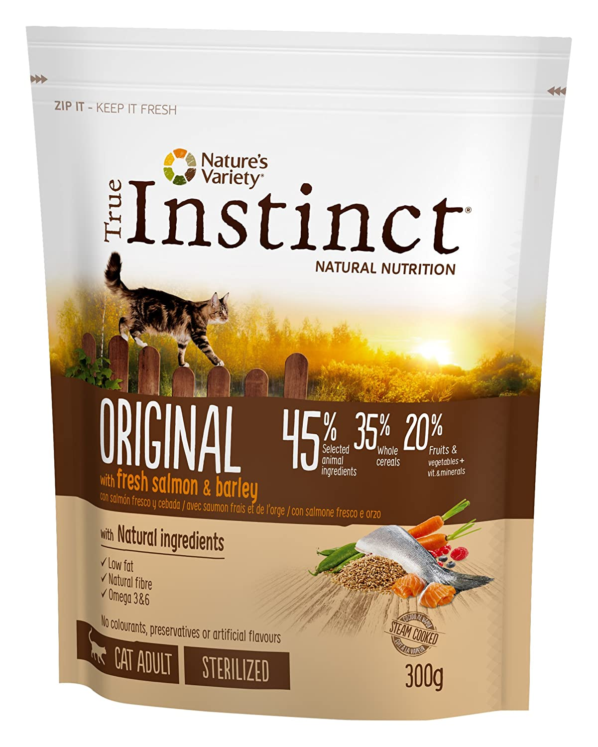 True Instinct High Meat Adult Nourriture pour Chat Poulet Elevé en Plein Air Désossé 1 kg 923210