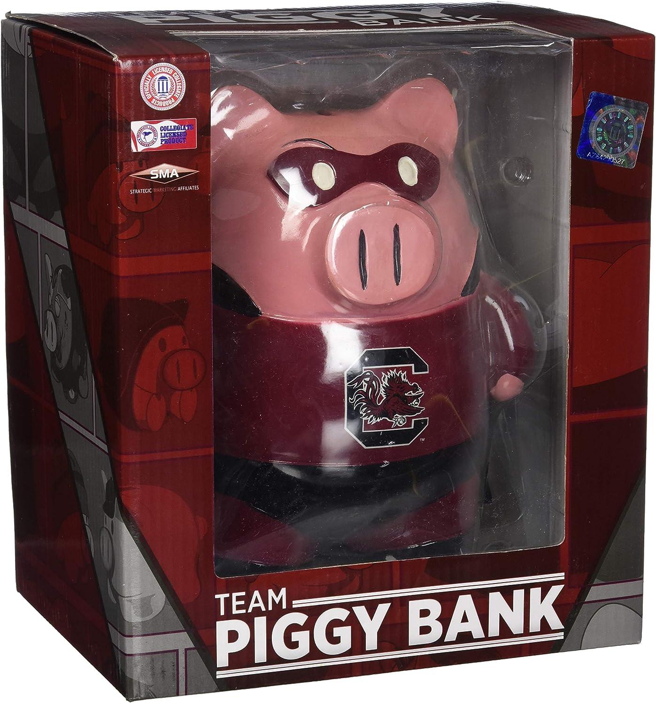 FOCO NCAA Large Stand Up Superhero Piggy Bank