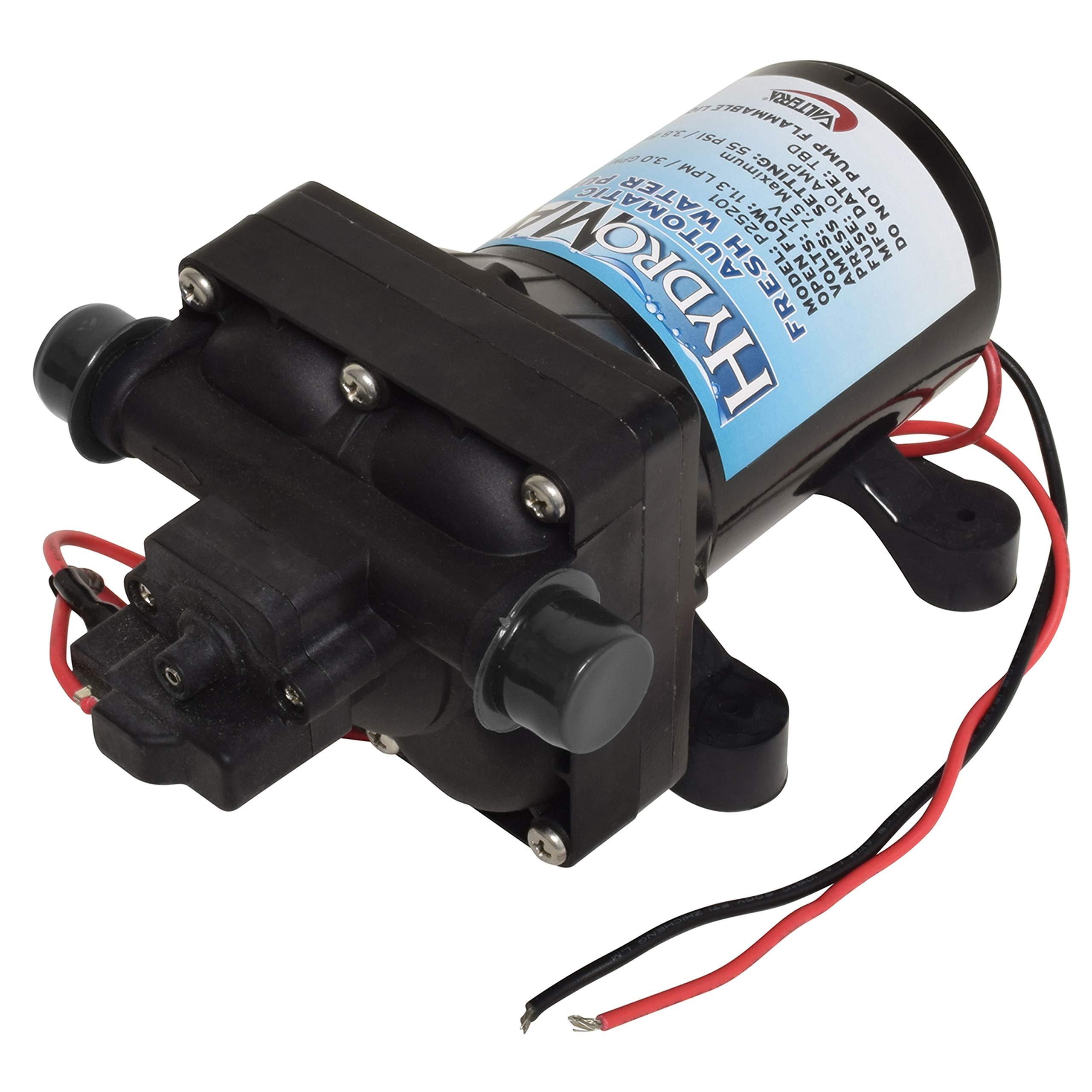 Valterra LLC P25201 Hydromax Automatic RV Freshwater Pump - 3.0 GPM by Valterra