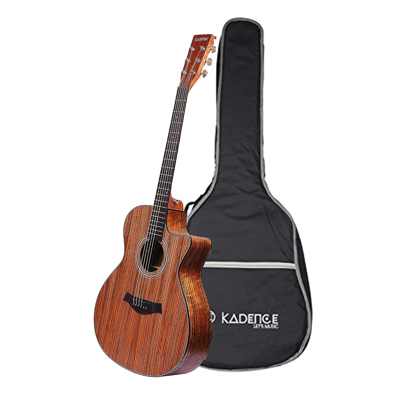 Kadence Acoustica series zebra wood best acoustic guitar under 10000