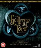 Guillermo Del Toro Collection - Cronos / The Devil's Backbone / Pan's Labyrinth [Blu-ray] [DVD]